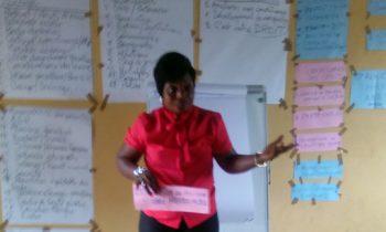 Avec l'appui de «ACTION AID/RDC»,  CONAFED a formé plus de 50 femmes de la Commune de Kisenso à Kinshasa sur le genre et Droits Humains
