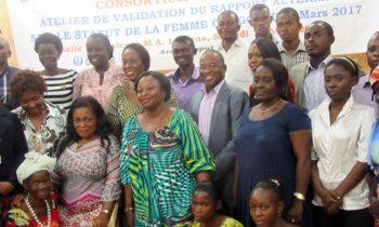 Consortium Femme Plus :Le Rapport alternatif sur le statut de la femme validé