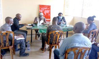 Projet de lutte contre les VSBG : Rencontre entre CONAFED et membres de la Synergie élargie pour évaluer les activités
