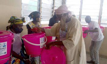 Suivi des activités de lutte contre la covid-19 à Kinshasa : Les bénéficiaires satisfaites de l'appui du Conafed