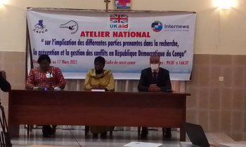 Gestion des conflits en RDC : Les parties prenantes demandent au gouvernement de mettre en œuvre une diplomatie constructive avec les pays voisins